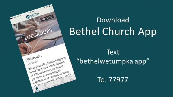 Bethel App